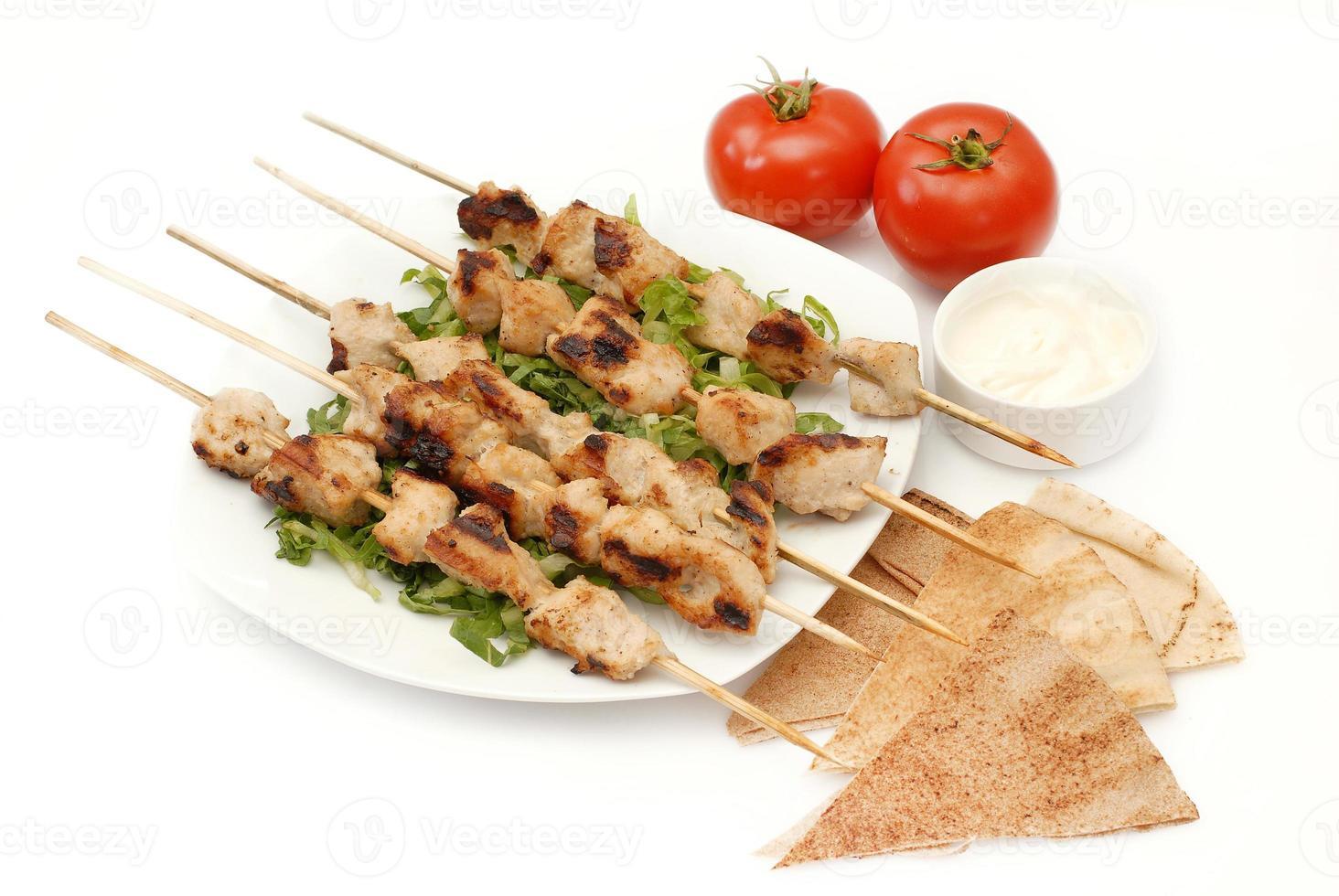 brochettes de poulet - shish tawook photo