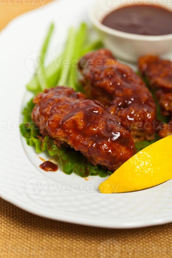 poulet buffalo barbecue photo