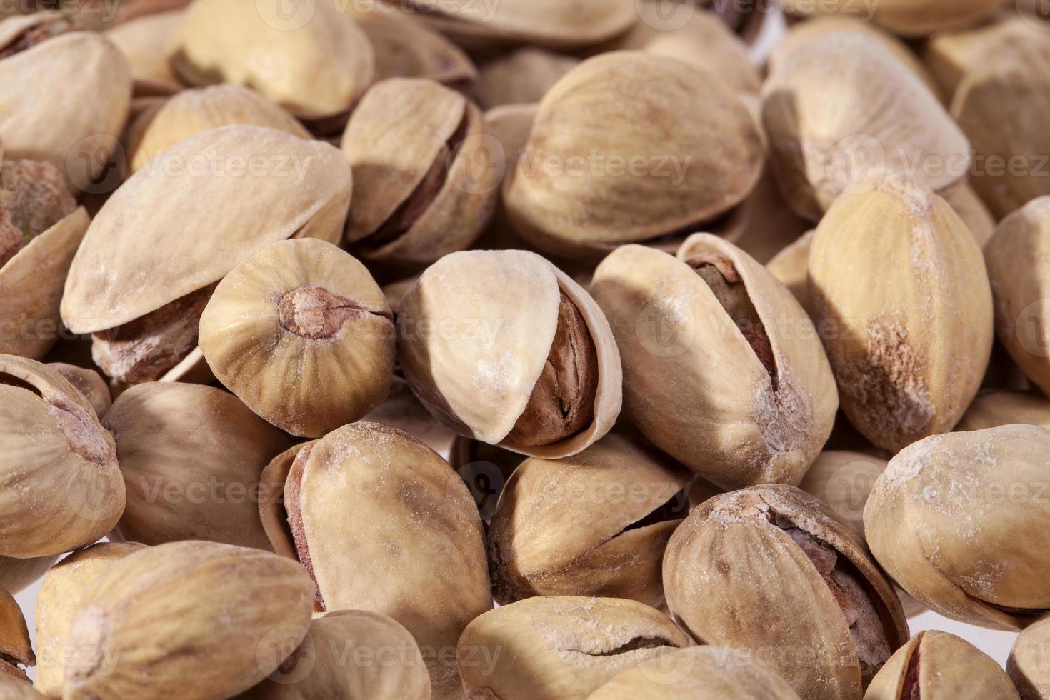 fond de pistaches séchées se bouchent photo