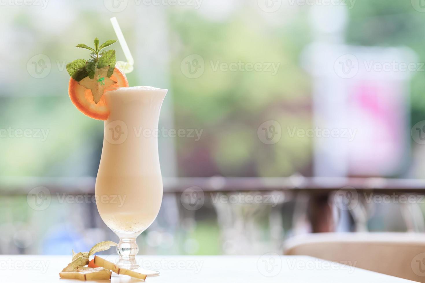 cocktail de lait photo