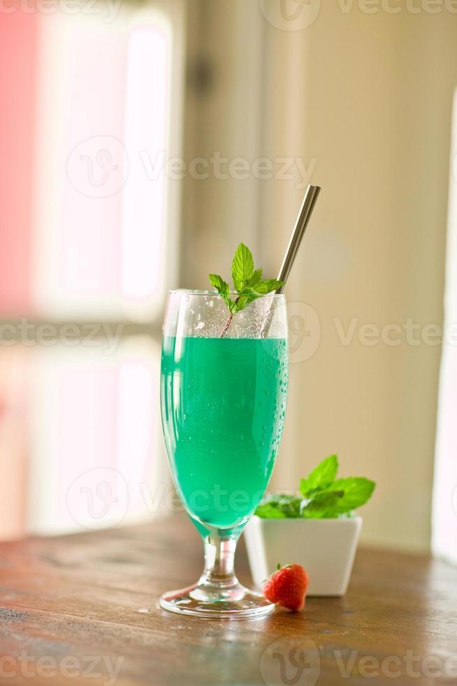 cocktail à la menthe photo
