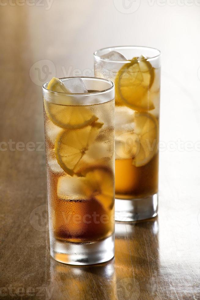 thé glacé photo