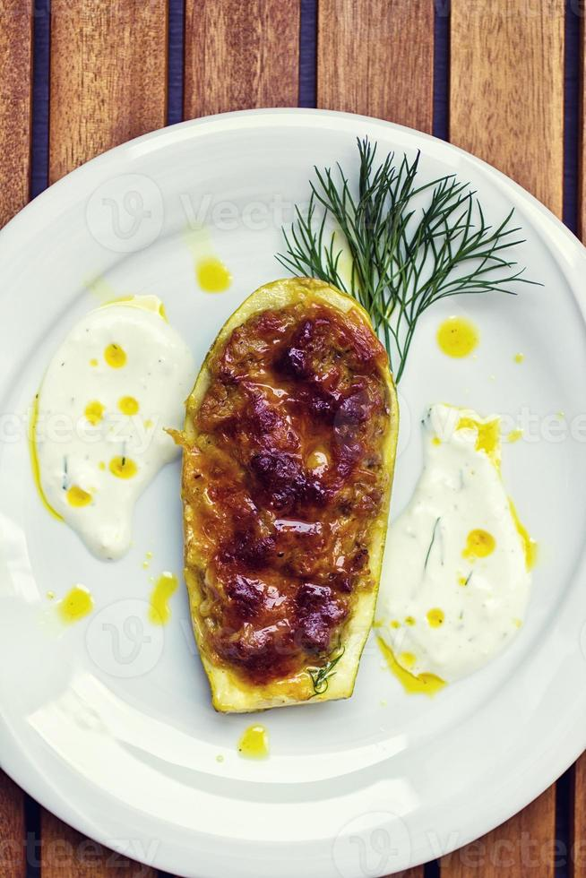 courgettes farcies photo