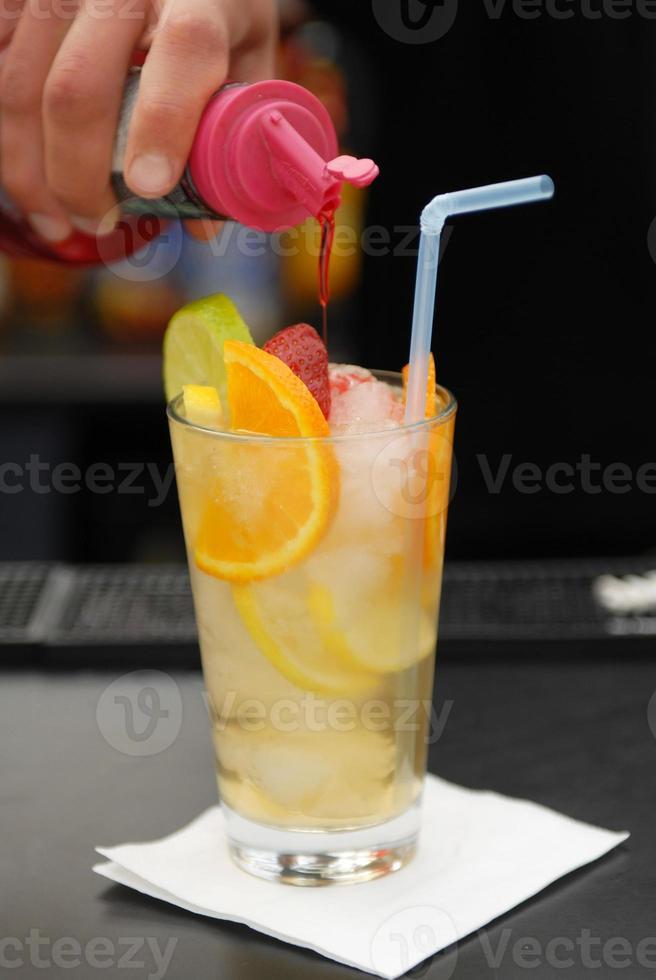 mélange de cocktails photo