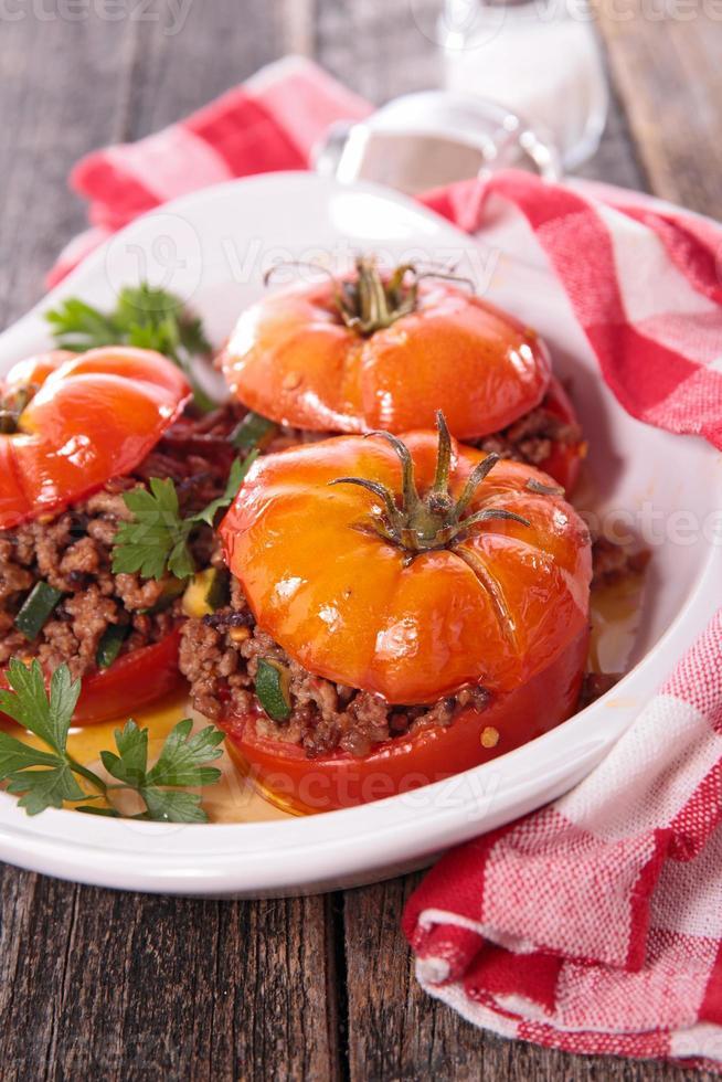 tomate au four photo