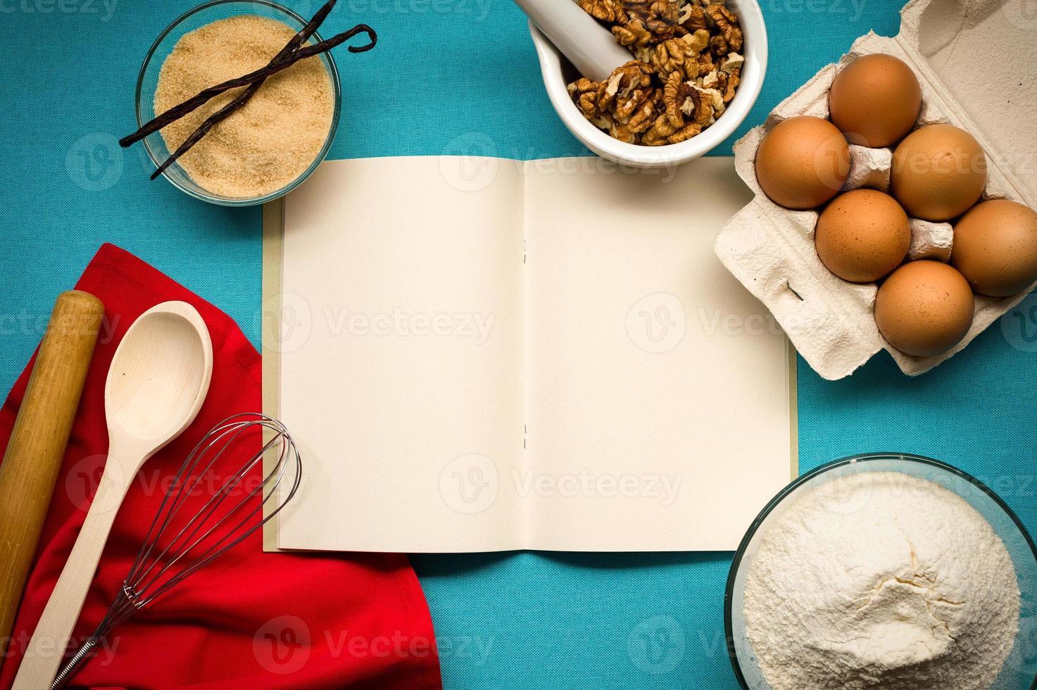 cahier de recettes photo