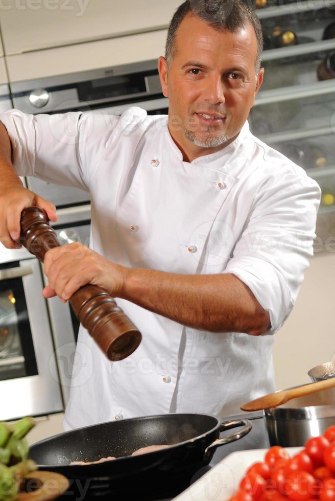 chef italien photo