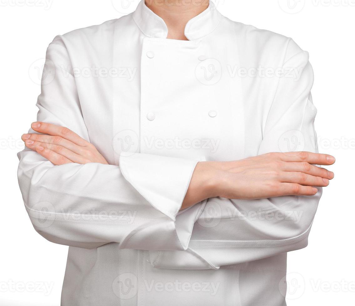 bras de cuisinière croisés photo