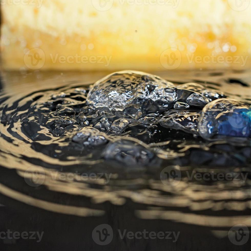 bulles d'eau photo
