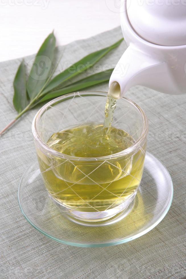 thé japonais photo