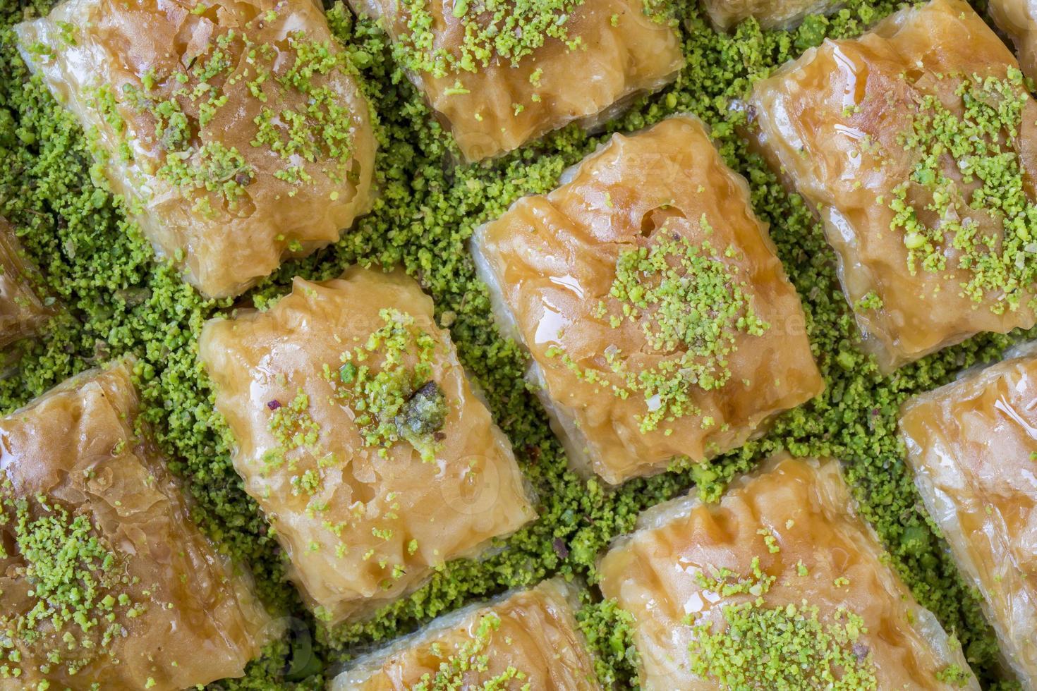 baklava de la cuisine turque photo