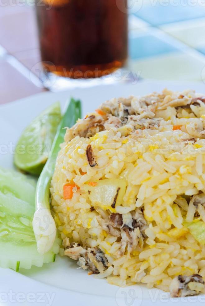 riz sauté photo