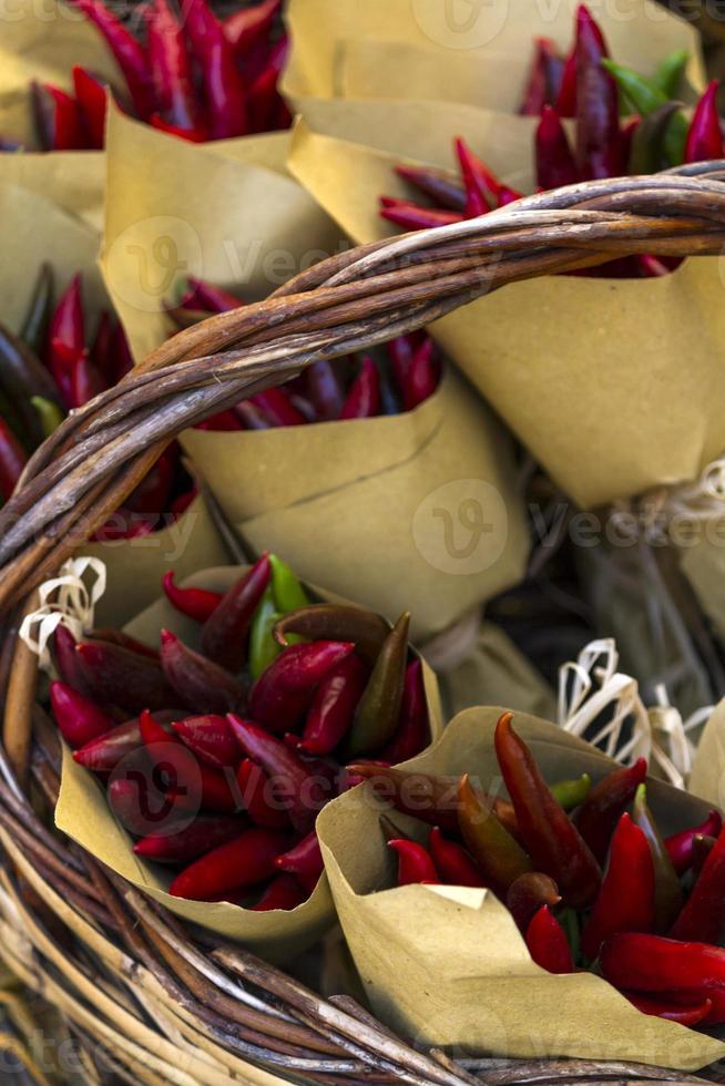 bouquet de poivrons photo