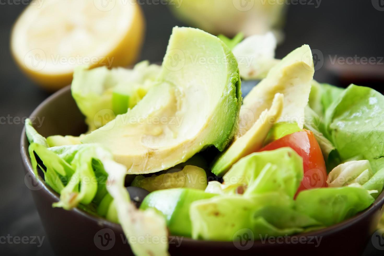 salade d'avocats photo