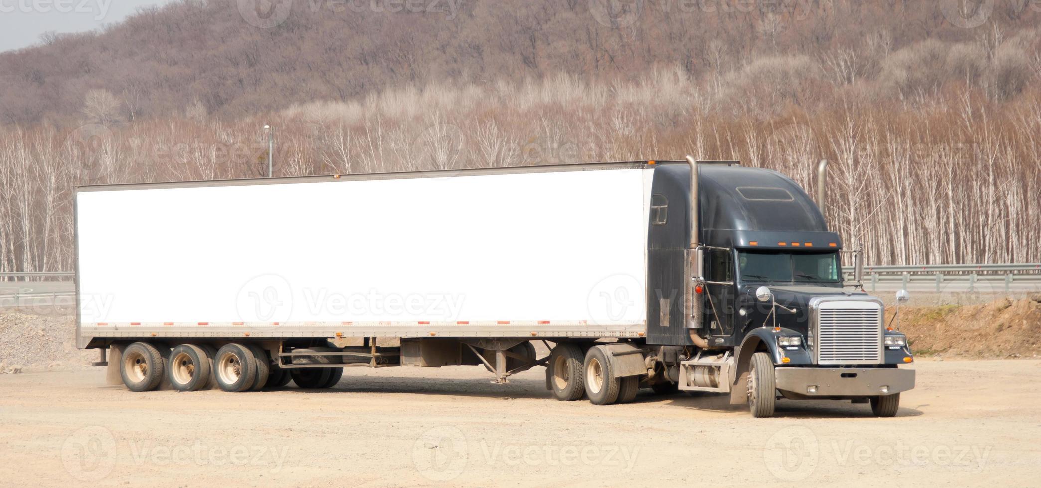 un camion photo