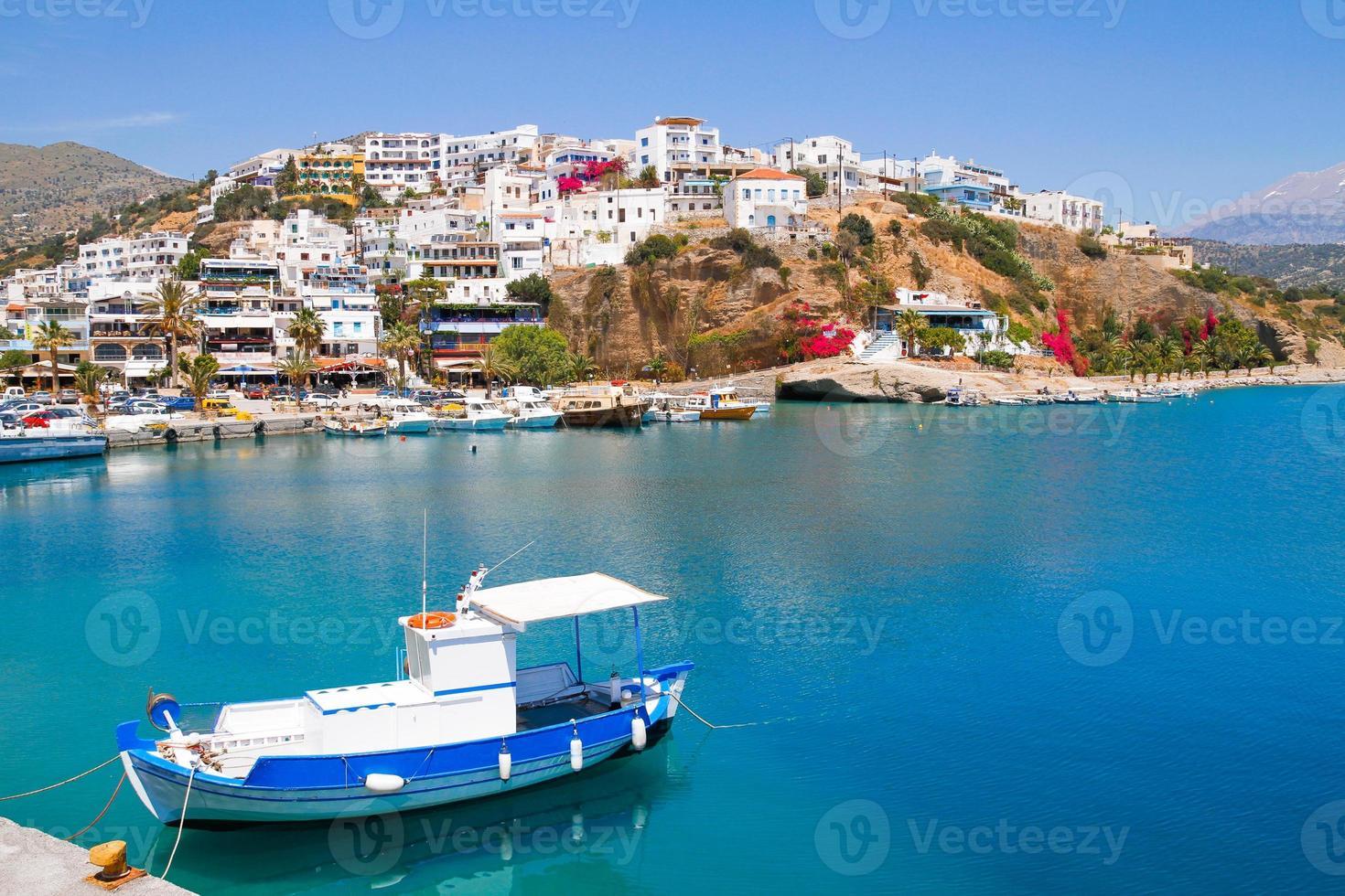 Port de pêche d'Agia Galini. photo
