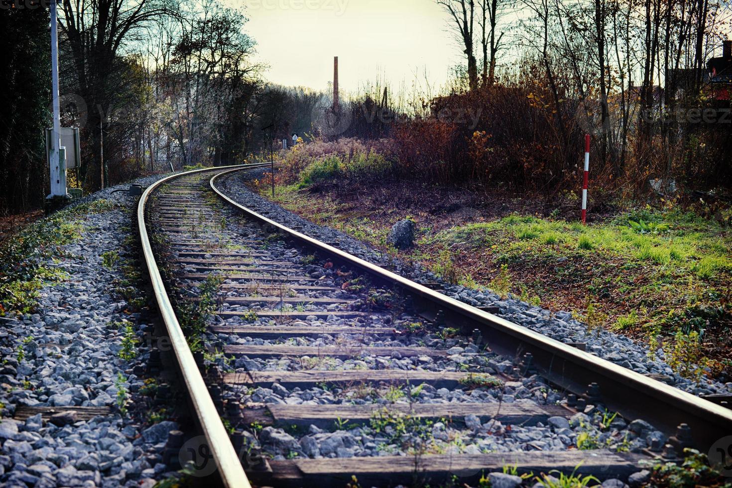 ligne ferroviare photo