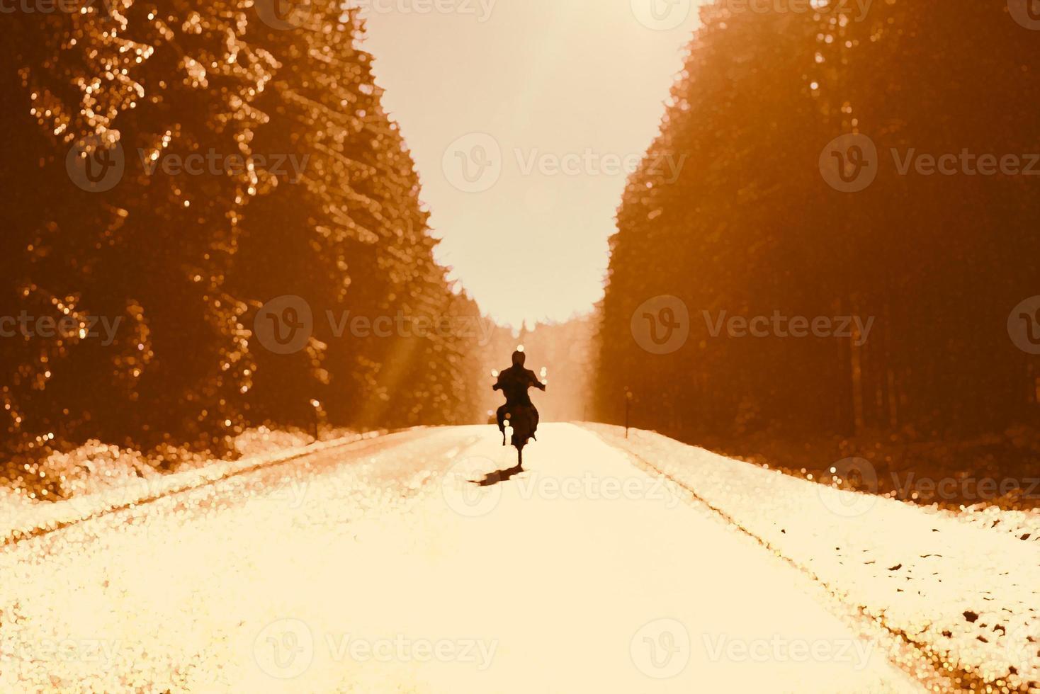 faire de la moto photo