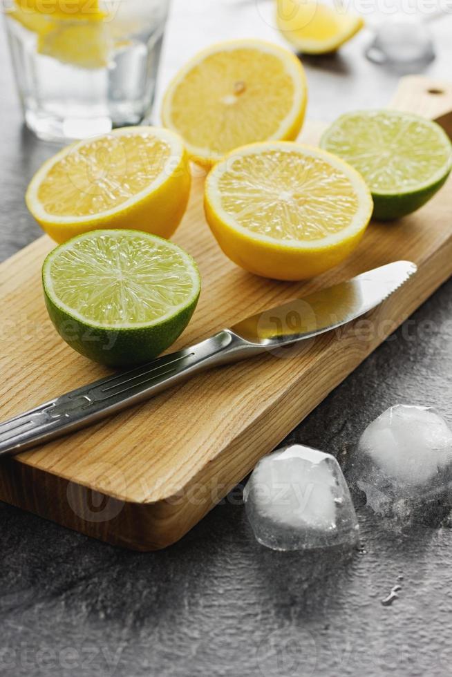 citron vert et citron photo