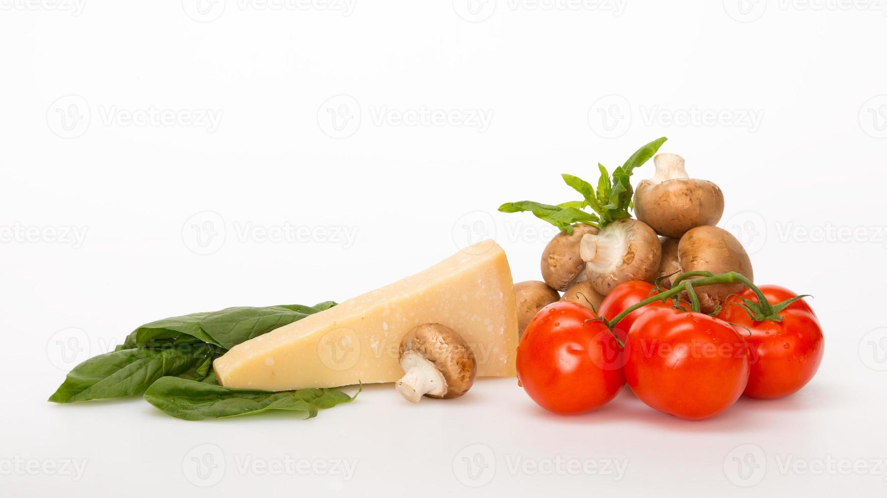 légumes et fromage photo