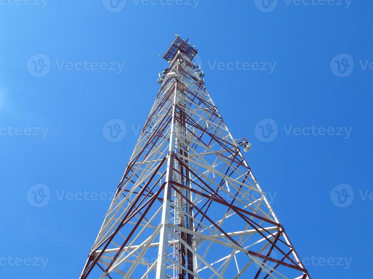 antenne de télécommunications photo