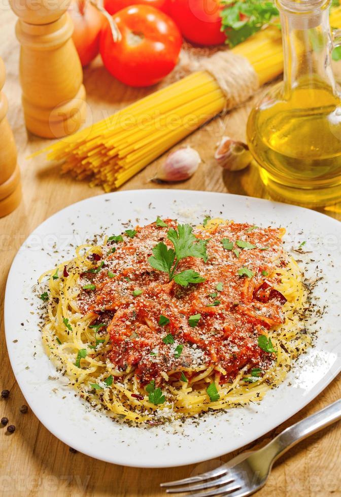 pâtes italiennes photo