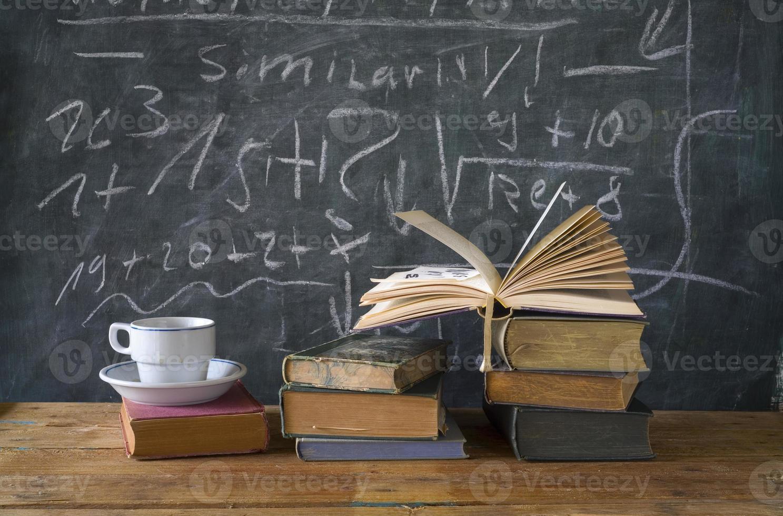 livres, éducation, apprentissage, science photo