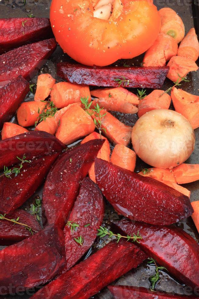 légumes pour rôtir photo