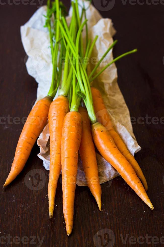 bouquet de carottes photo