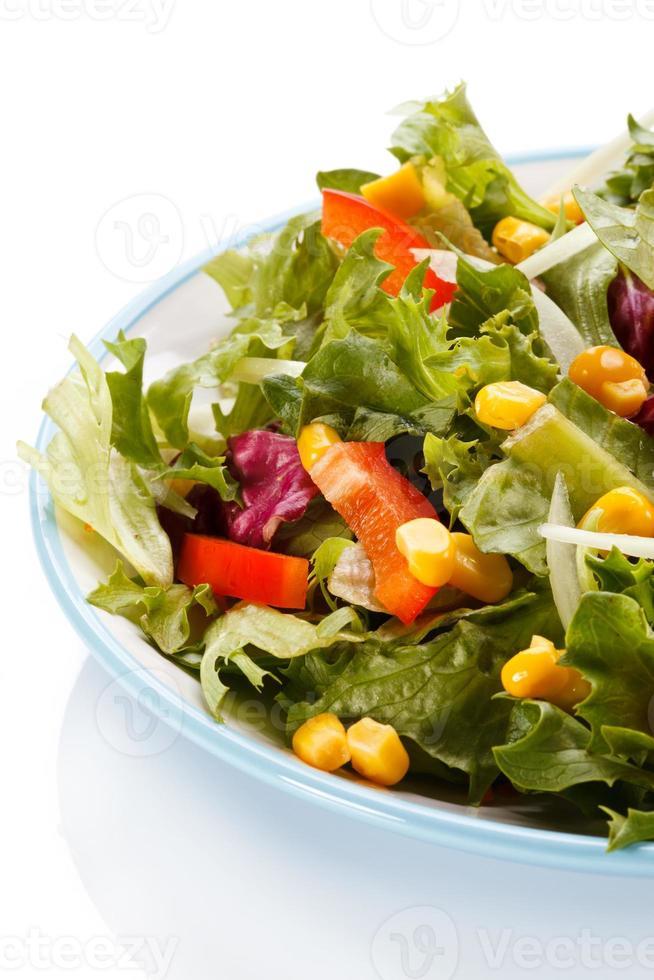 alimentation saine - salade de légumes photo