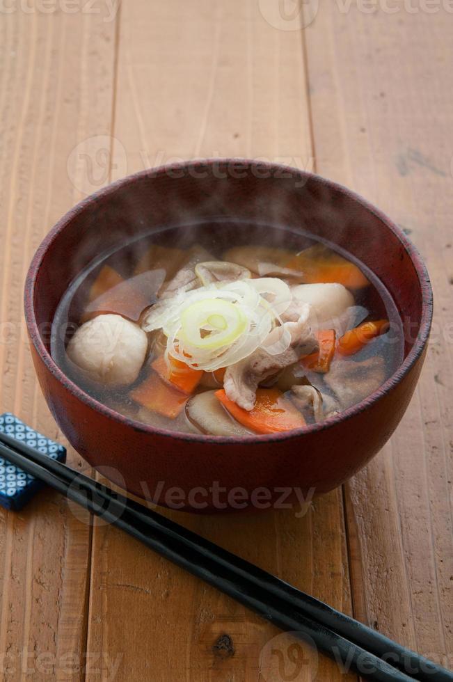 cuisine japonaise, kenchinjiru photo