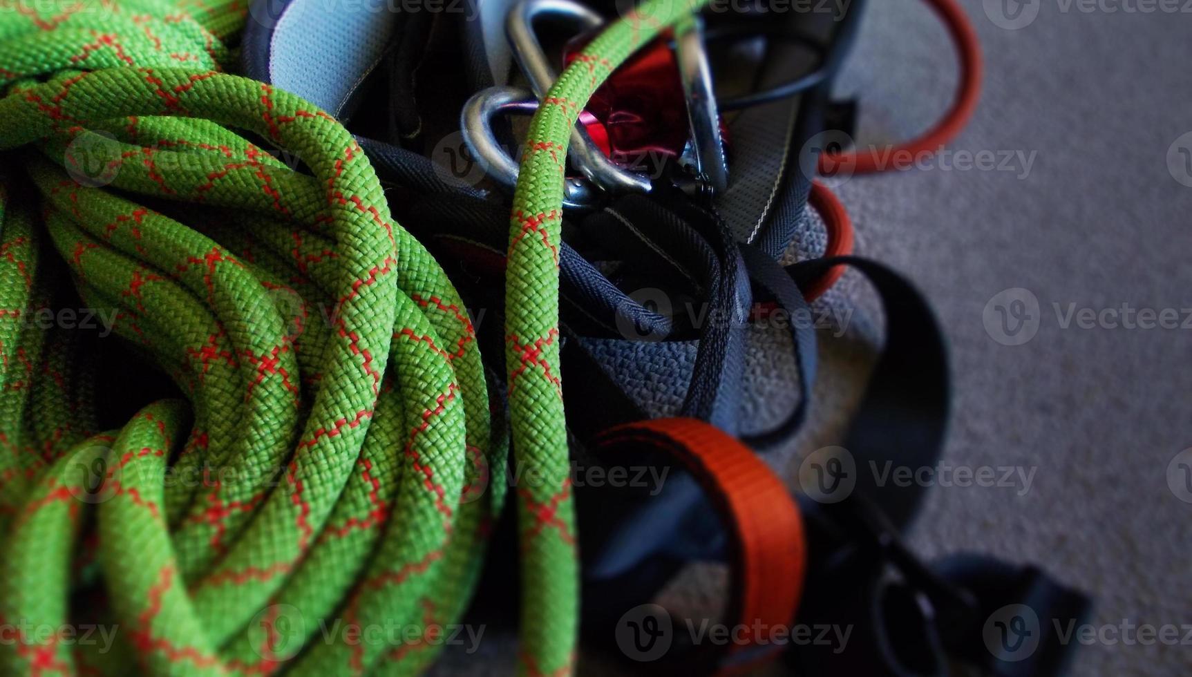 équipement d'escalade photo