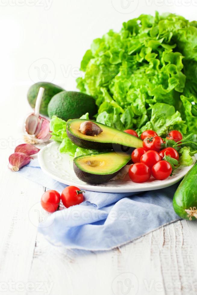 mélange de légumes d'été photo