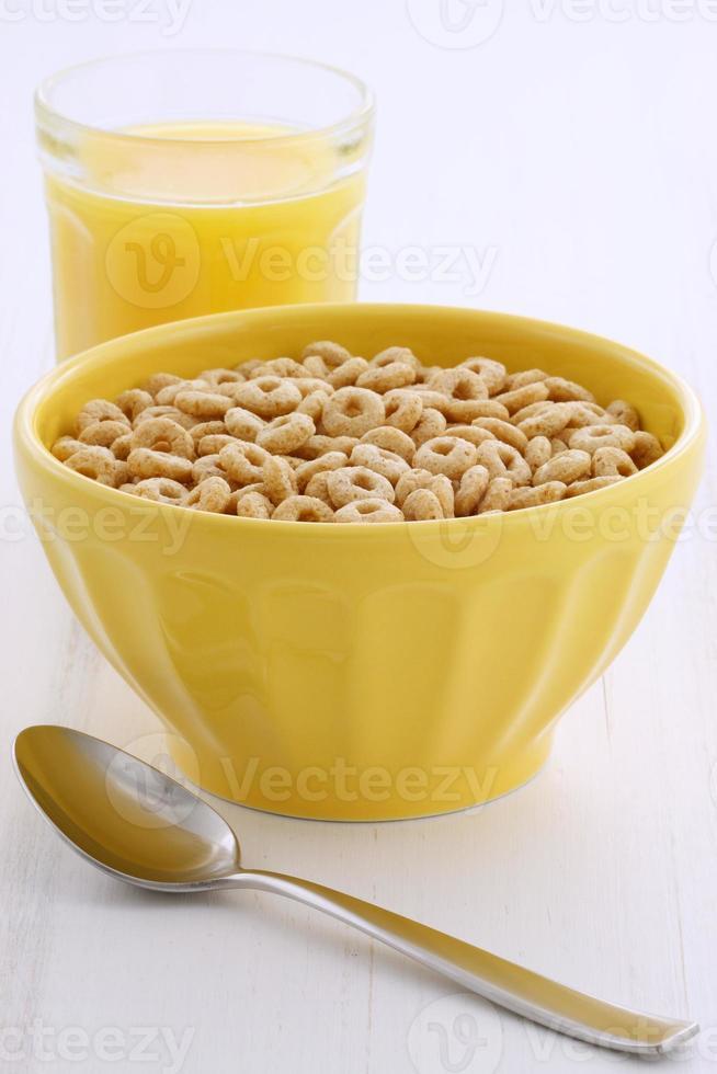 boucles de céréales de blé entier photo