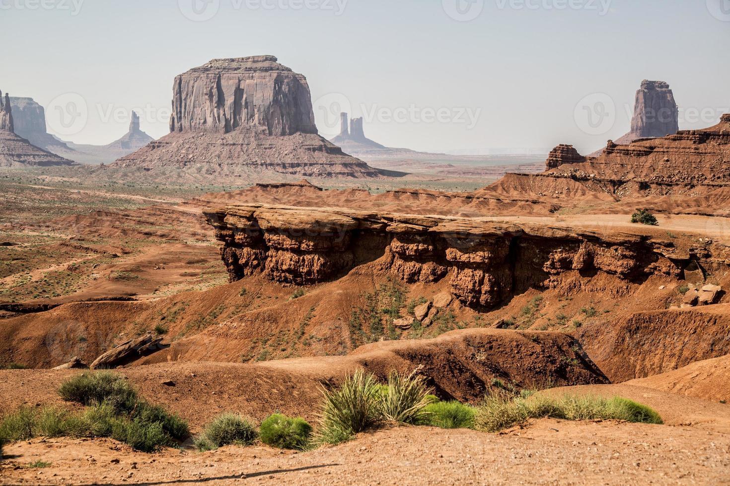 monument valley, utah et arizona photo