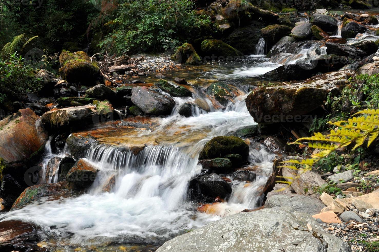 rivière de montagne photo