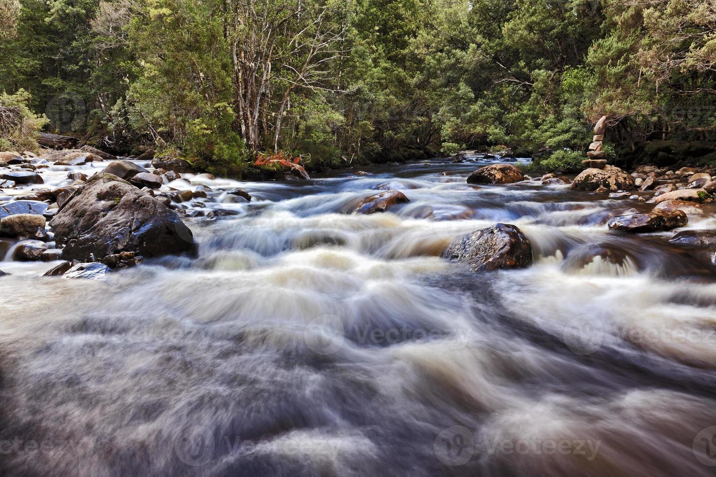 Tasmanie Waterset River photo