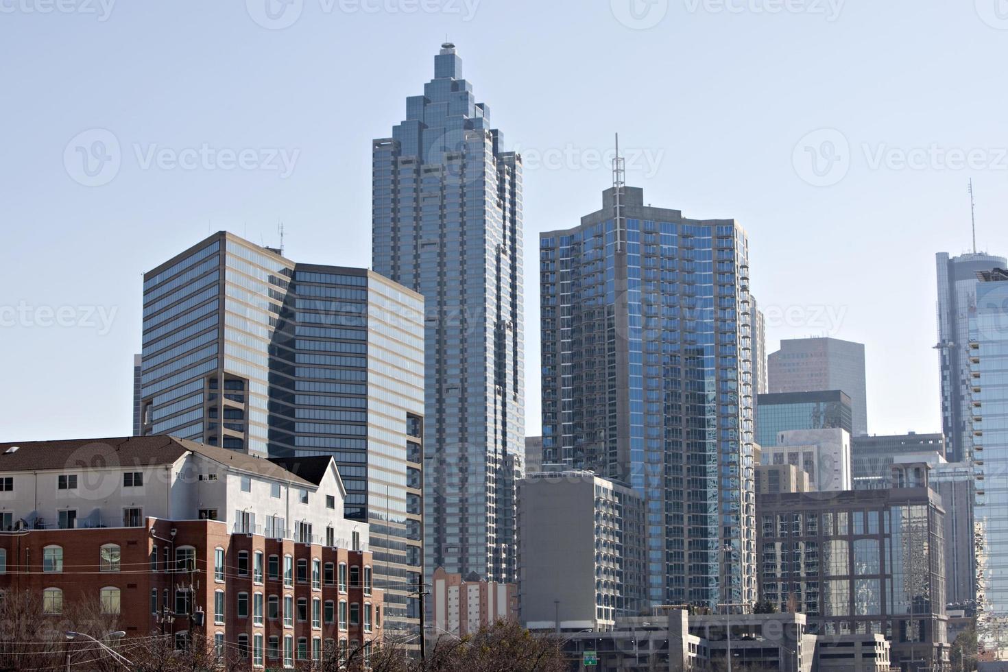 Centre-ville d'Atlanta, Géorgie Skyline photo