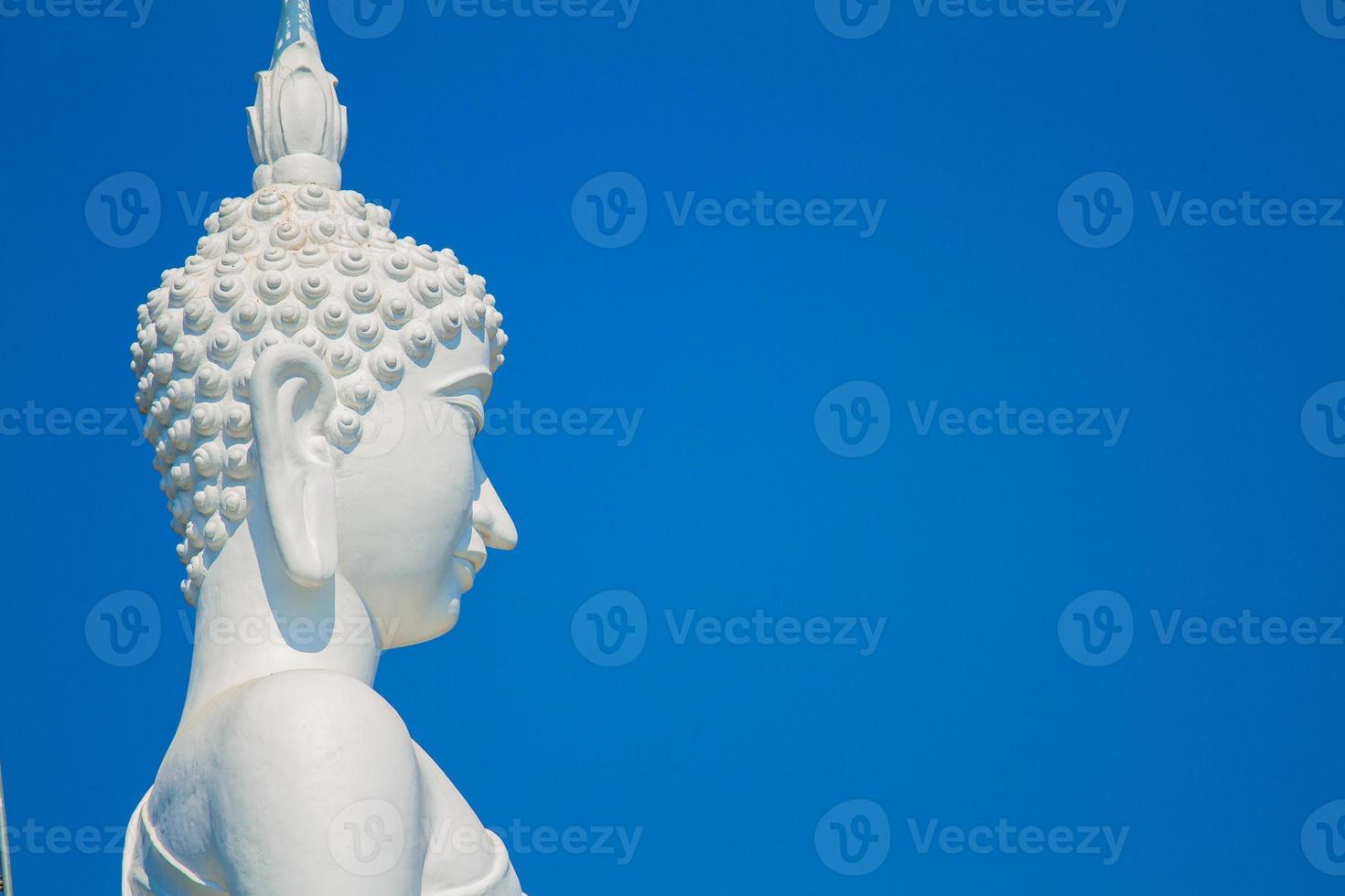 Bouddha blanc photo