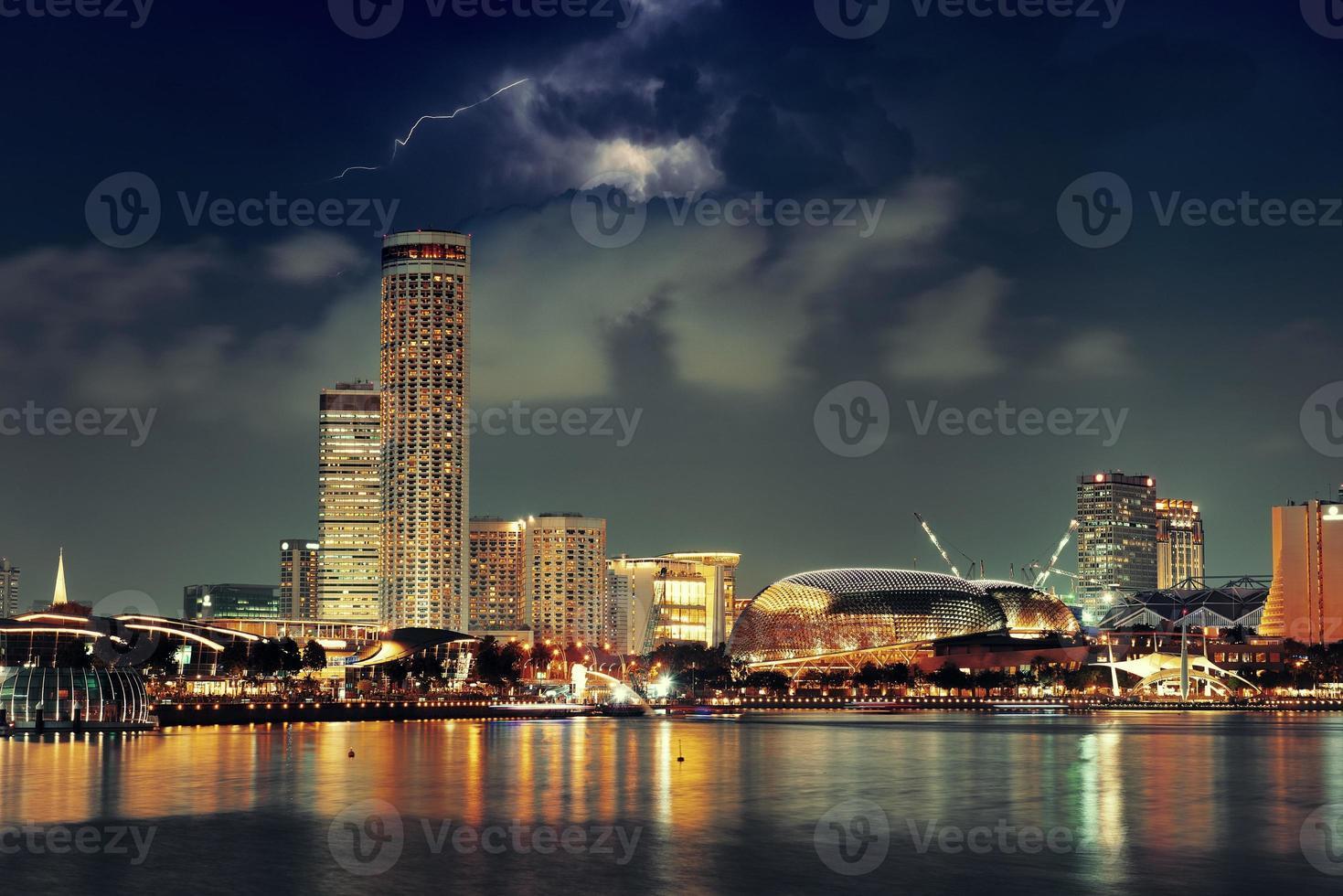 Skyline de Singapour photo