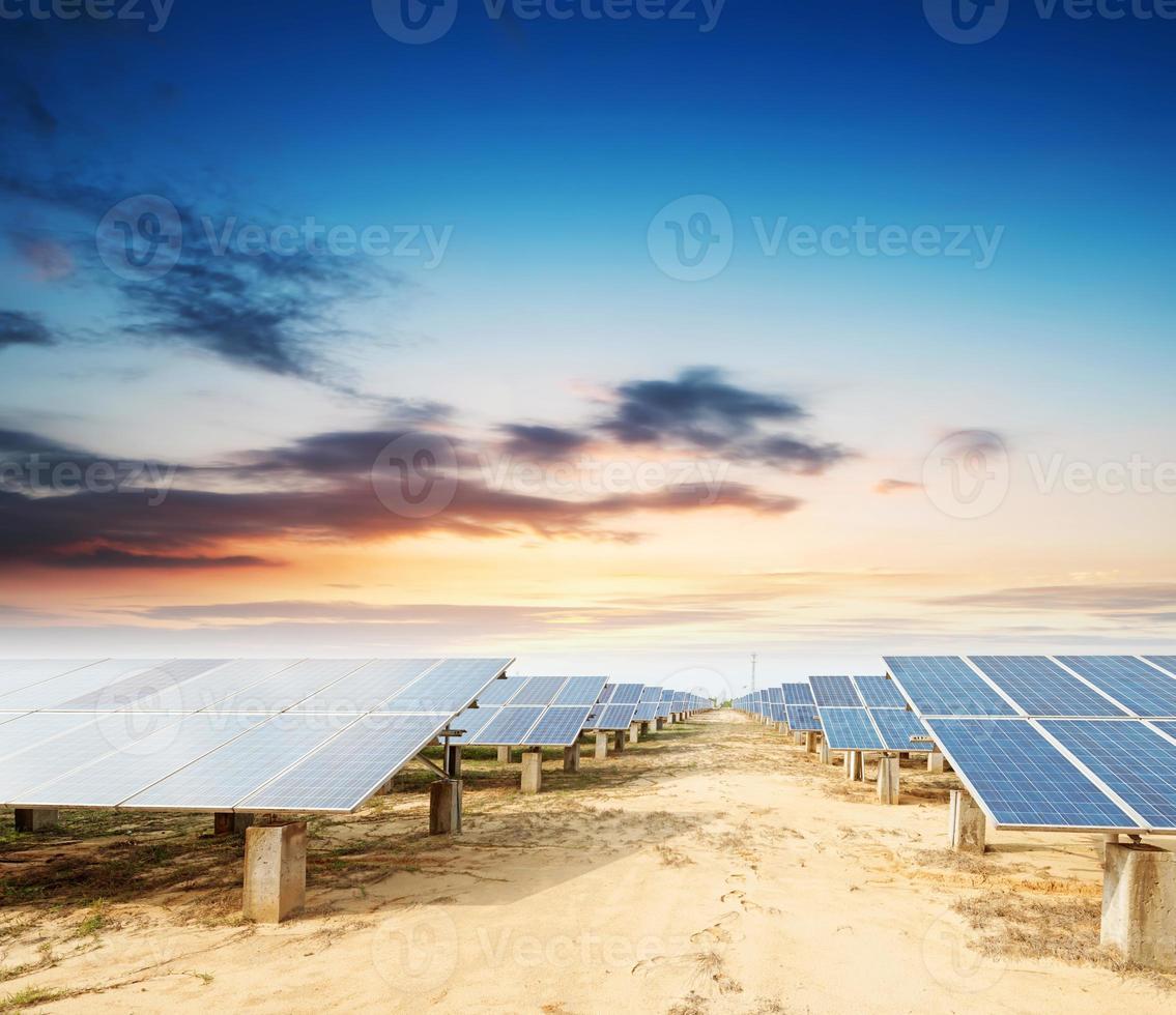 panneaux photovoltaïques photo
