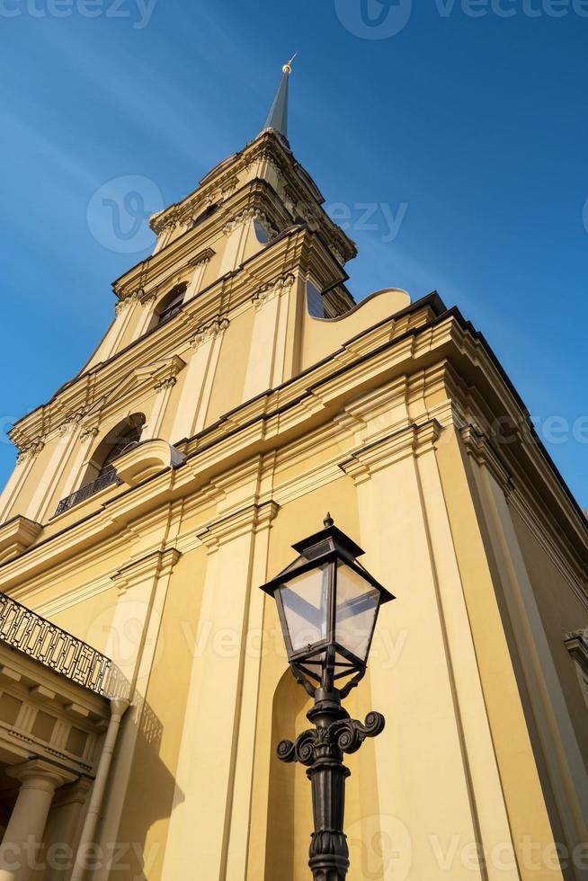 Cathédrale Peter et Paul, Saint-Pétersbourg, Russie photo