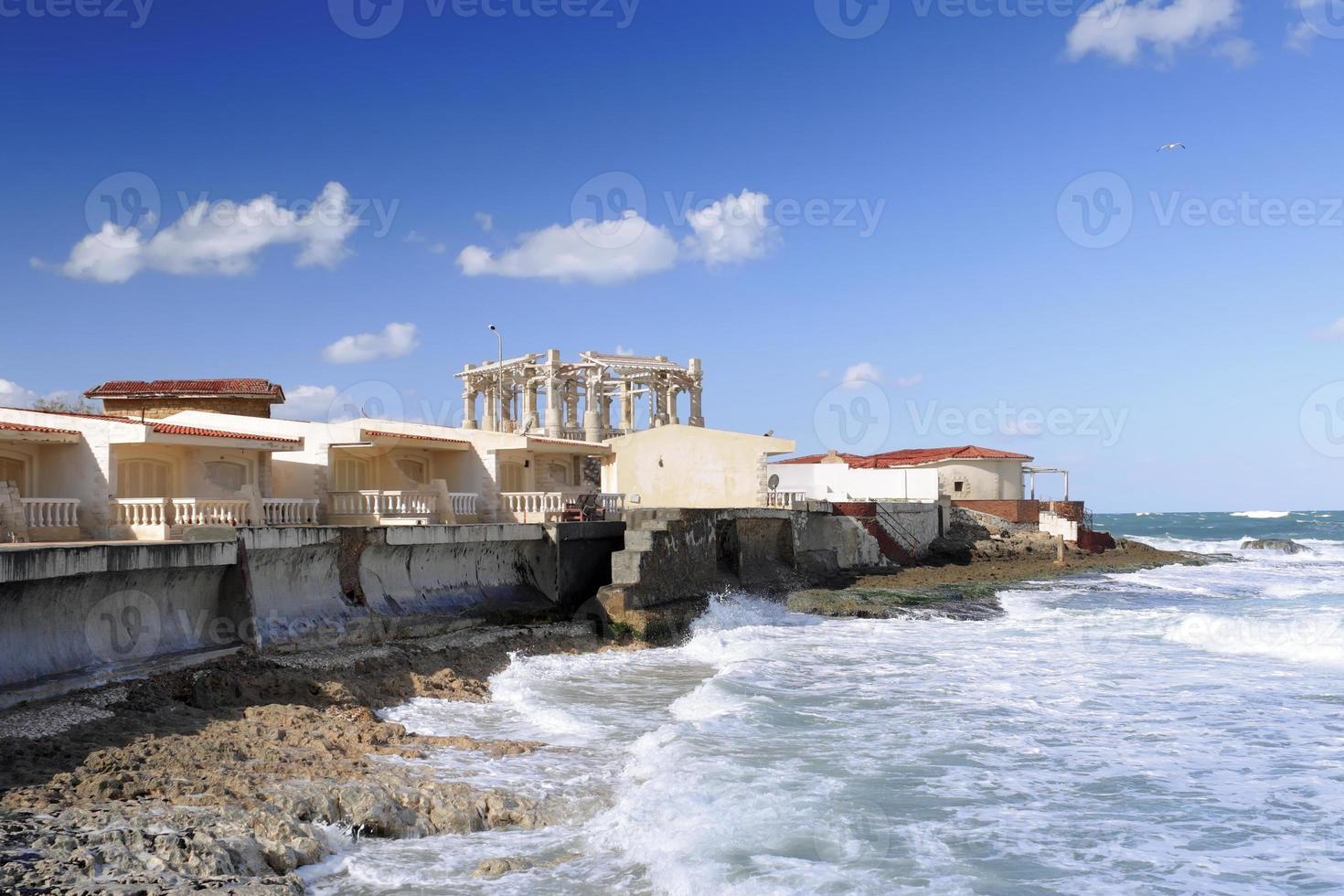 Alexandrie, front de mer. Egypte photo