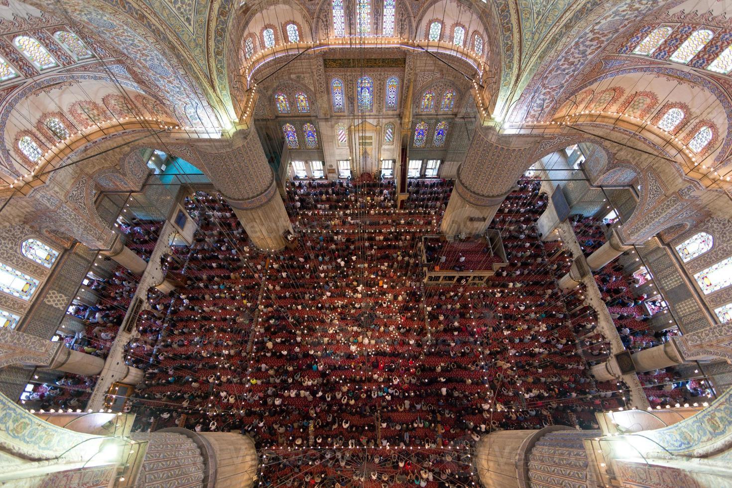 la mosquée bleue photo