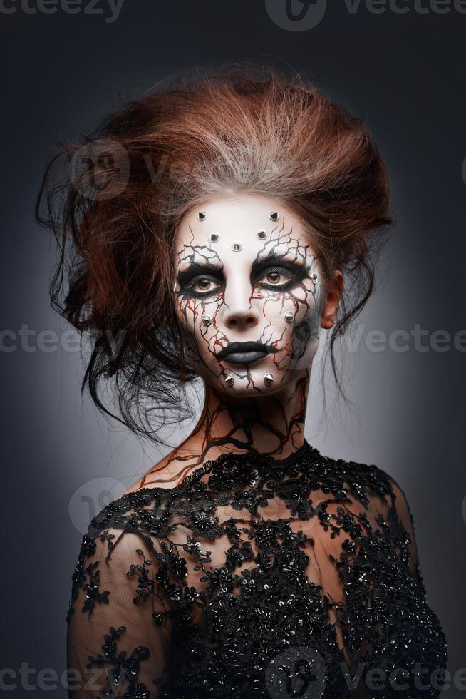 reine effrayante. photo