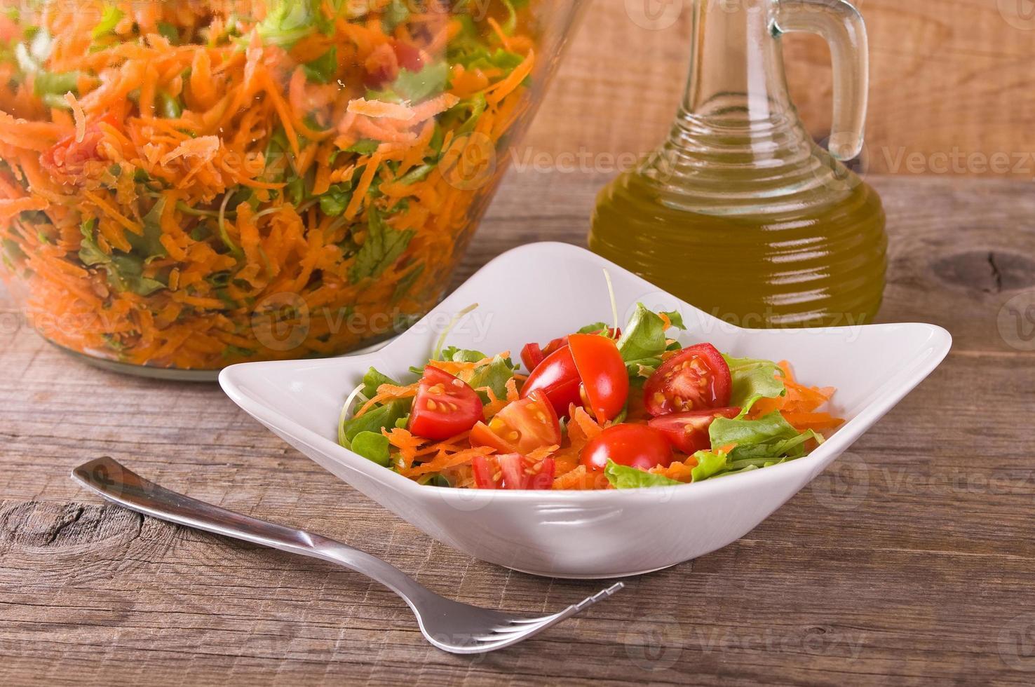 salade de légumes. photo