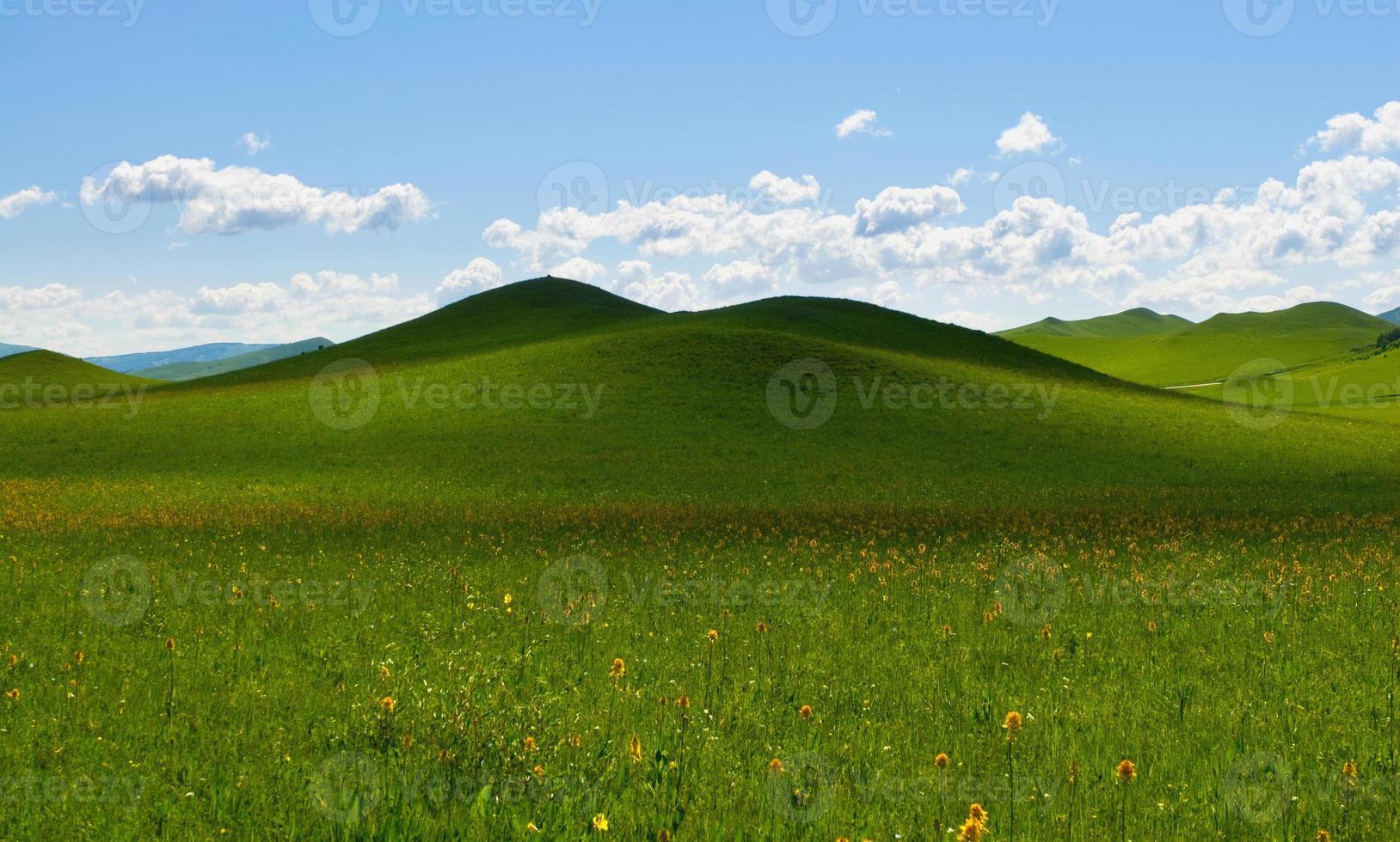 paysage avec cloudscape photo