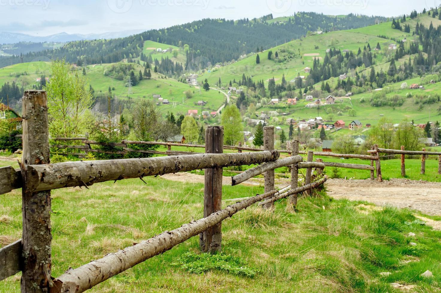 fond de paysage de montagne photo