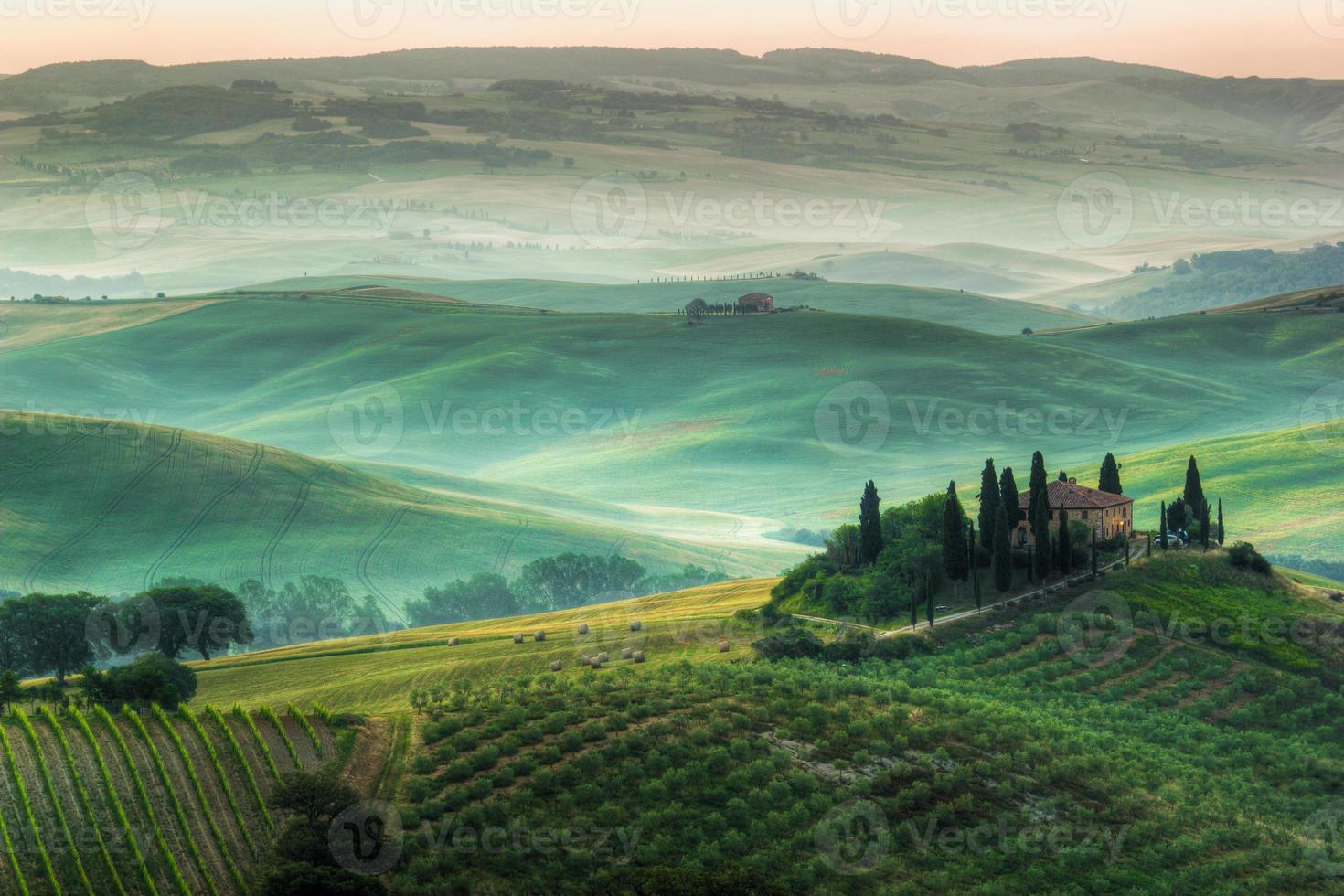 le paysage toscan photo