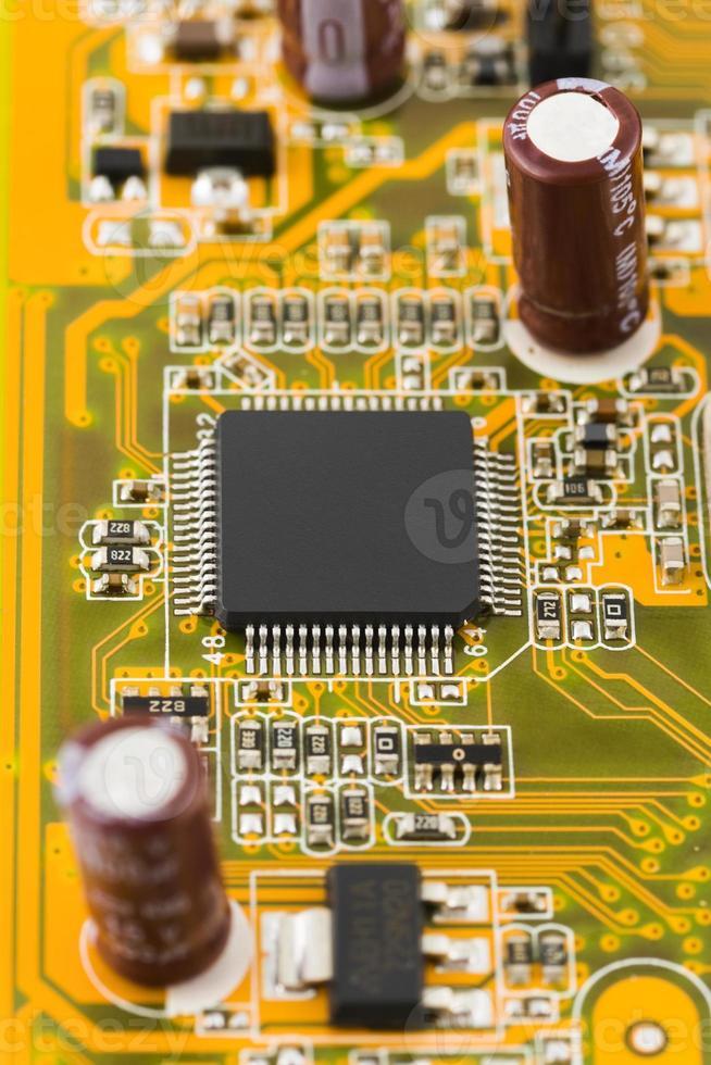 un microprocesseur d'ordinateur photo